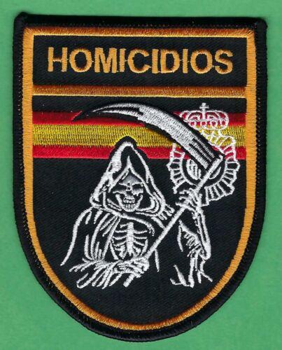 SPAIN GUARDIA CIVIL HOMICIDIOS POLICE HOMICIDE CSI DIVISION PATCH