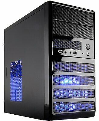 10-Core Gaming Computer Desktop PC Tower 500 GB Quad 8GB AMD R7 VIDEO NEW PC
