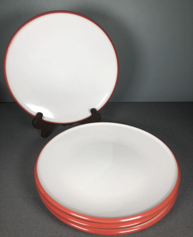 Dansk KOBENSTYLE CHILI RED Salad Plates Set Of 4