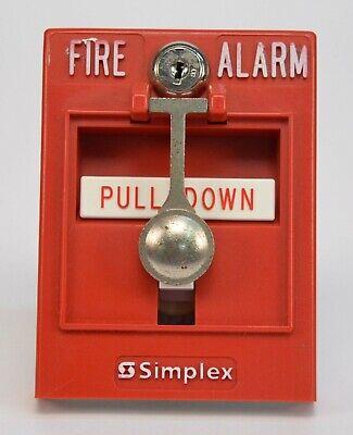 Simplex 4099-9002 Fire Alarm Addressable Pull Station 630-574