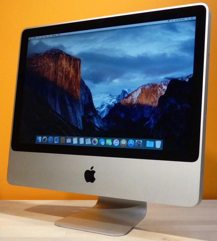 24 inch iMac Desktop - HUGE 1TB UPGRADED - KB+M+WiFi+DVD - OS X 2015 - WARRANTY