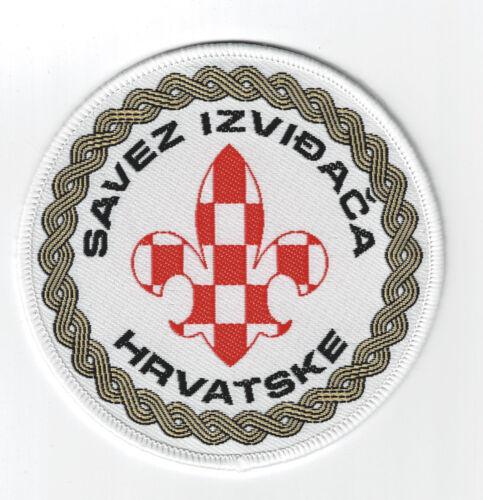 SCOUTS OF CROATIA - CROATIAN SCOUT NATIONAL EMBLEM PATCH