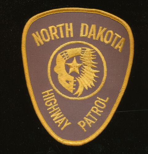 B31 - NORTH DAKOTA HIGHWAY PATROL POLICE PATCH, Unused.