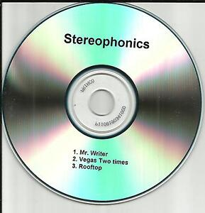 STEREOPHONICS-Rare-3-tracks-Sampler-TST-PRESS-2001-PROMO-Radio-DJ-CD-Single