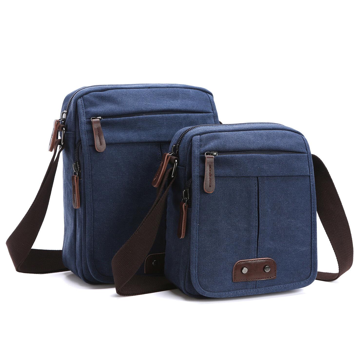 2761ae000d54 Men Canvas Shoulder Bag Vintage Military Crossbody Messenger Travel Day  Handbags фото