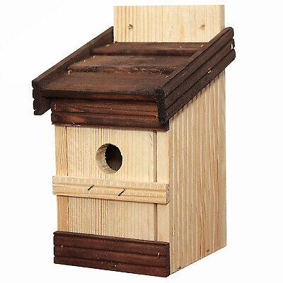 Nistkasten Spatzen Sperlinge Spatzenhaus Vogelhaus Vogelhäuschen Brutstätte Holz