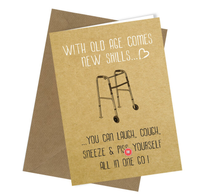 Greetings Card Comedy Rude Funny Humour Birthday Or Fathers Day Dad