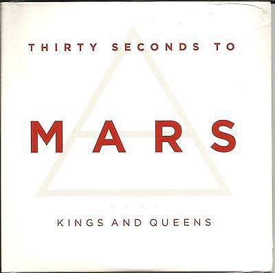 THIRTY SECONDS TO MARS Kings and Queens EDIT UK CD single SEALED USA Seller (30 Seconds To Mars Queens And Kings)