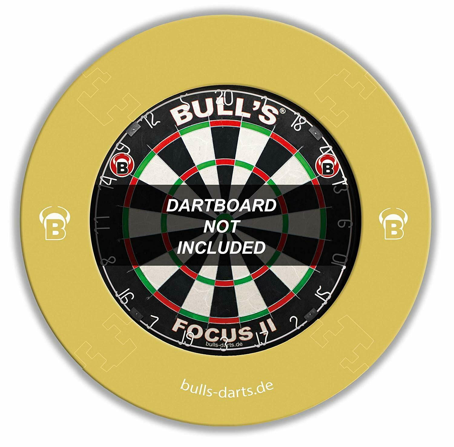 BULL'S Quarterback Eva Dart Board Surround, Creme