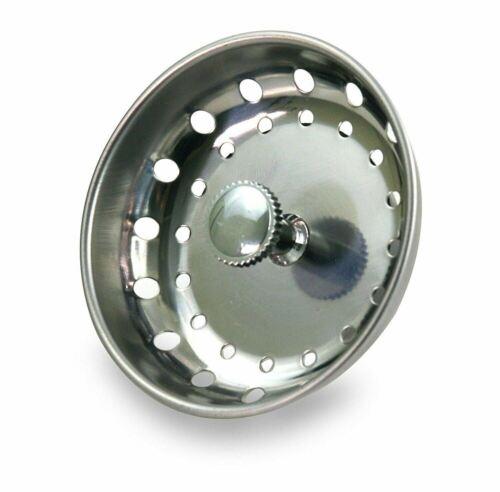 EverFlow Kitchen Sink Basket Strainer Stainless Steel and Dr