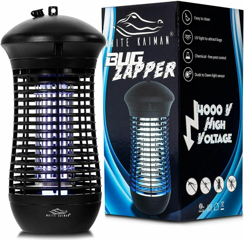 Electric Bug Zapper With Day/Night Sensor | Fly, Gnat, and Mosquito Trap Killer