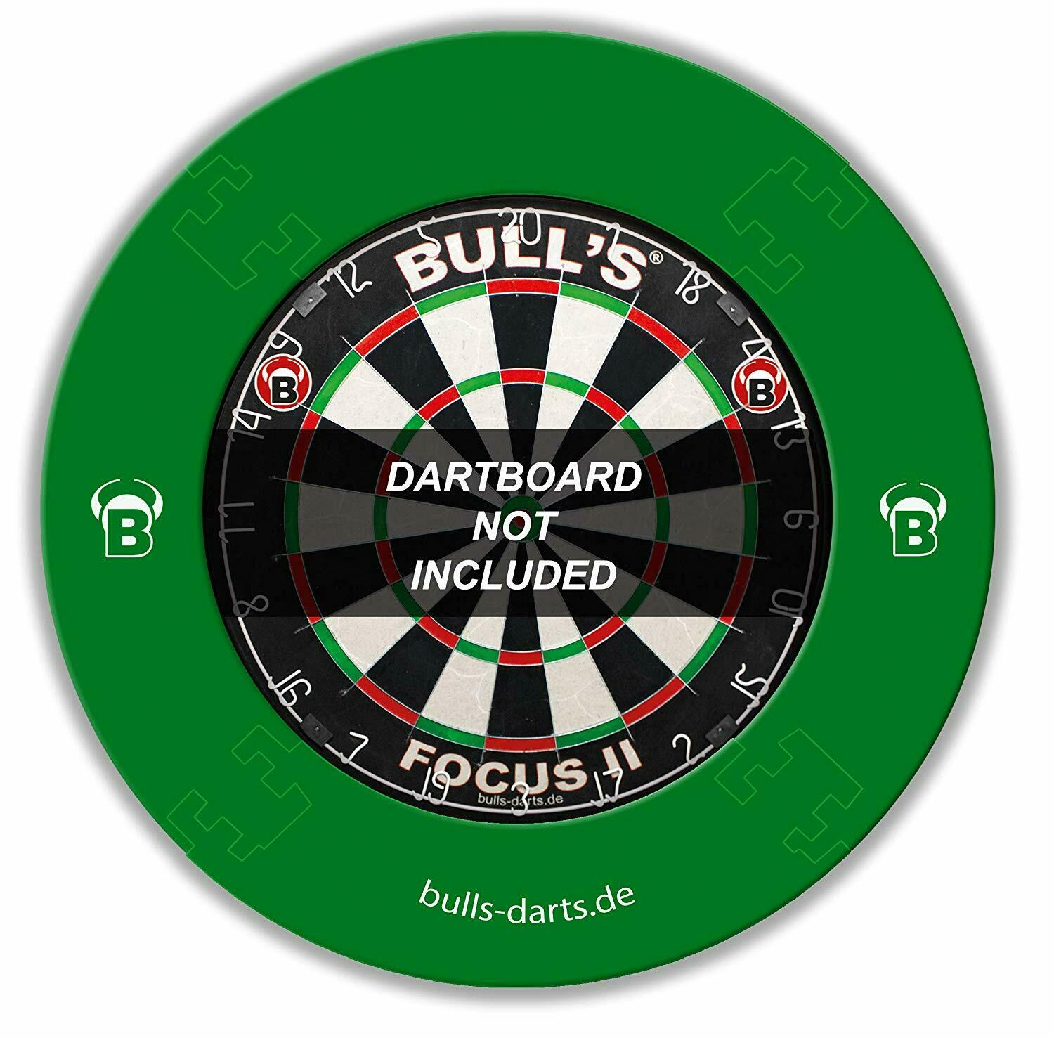 BULL'S Quarterback Eva Dart Board Surround, Grün