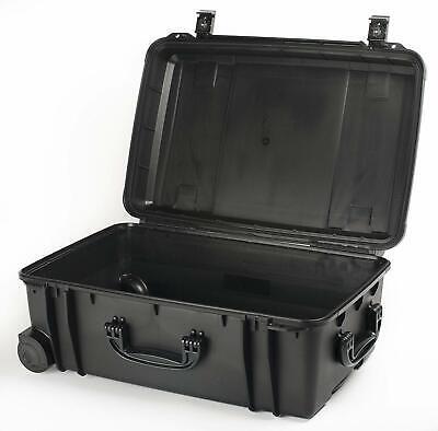 Seahorse SE920 Waterproof Hard Sided Locking Travel Case Without Foam Black