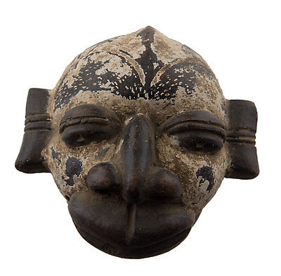 Mask Diminutive African Passport Miniature Earth Cotta Terracotta 6442 AF1