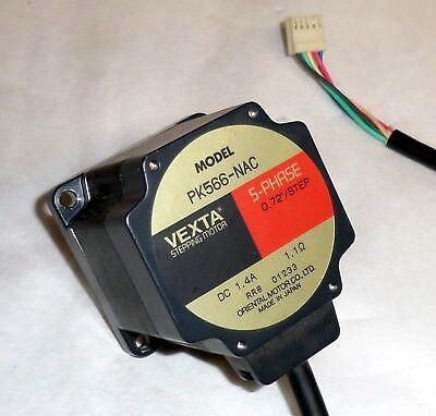 NEW Vexta Model PK566-NA Stepping Stepper Motor 5-Phase Japan