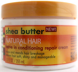 Cantu Shea Butter Leave In Conditioning Repair Cream Natural Hair