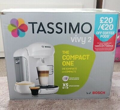 bosch tassimo coffee machine new