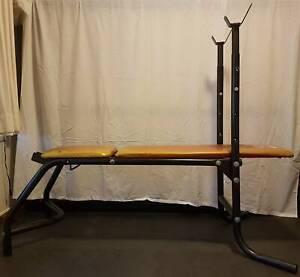 Gym press bench - adjustable