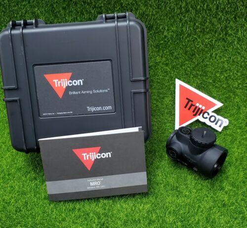 Trijicon 1x25mm MRO 2.0 MOA Adjustable Red Dot Sight Black - MRO-C-2200003