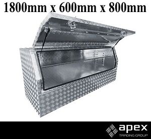 BRAND NEW ALUMINIUM CHECKER PLATE TOOLBOX TOOL BOX FOR UTE 1868HR Chipping Norton Liverpool Area Preview