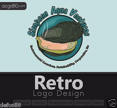Retro Logo designs + Revisions + Vintage, Vector, Professional, Style, Illustrat