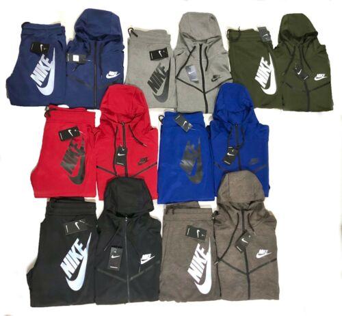 Nike Tech Sweat Suit Fleece Hoodie & Joggers Tracksuit Brand