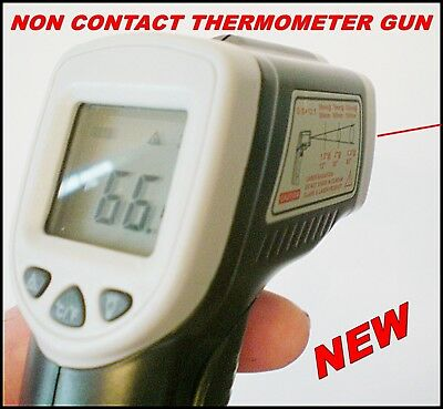 TEMPERATURE GUN LASER INFER RED NON CONTACT HEAT SENSOR TOOL THERMAL INSULATION
