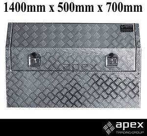 NEW APEX ALUMINIUM ENCLOSED LID TOOL BOX TOOLBOX FOR UTE 1457HR Chipping Norton Liverpool Area Preview