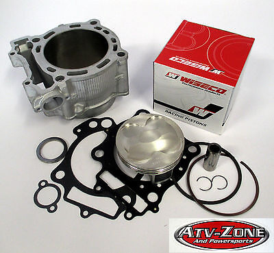 WISECO Piston with 95mm 12.5:1 STD Bore Cylinder & Gaskets YZ 450F 2006-2009