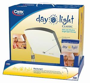 classic bright light sad therapy lamp box day 10 000 lux sleep energy. Black Bedroom Furniture Sets. Home Design Ideas