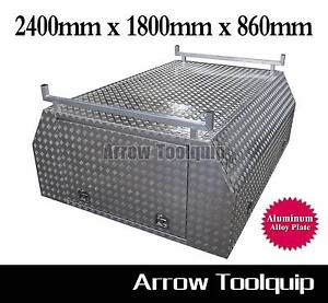 2400x1800x860mm Single Cab Full Cover Canopy Toolbox Regency Park Port Adelaide Area Preview