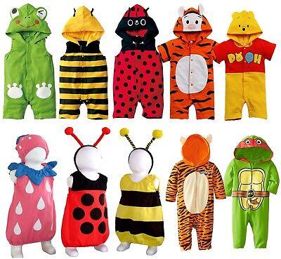 Kleinkinder Kleinkind kostüm Karneval Frosch Biene Marienkäfer