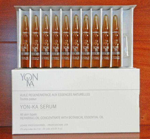 Yonka Facial Treatment Serum 20 x 2ml Global Beauty Care Premium Power Brush Skin Cleansing System (Pink)