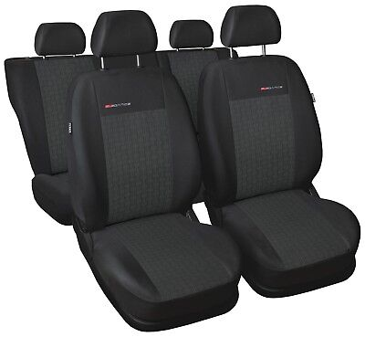 Sitzbezüge Sitzbezug Schonbezüge für Mercedes C-Klasse Komplettset Elegance P1