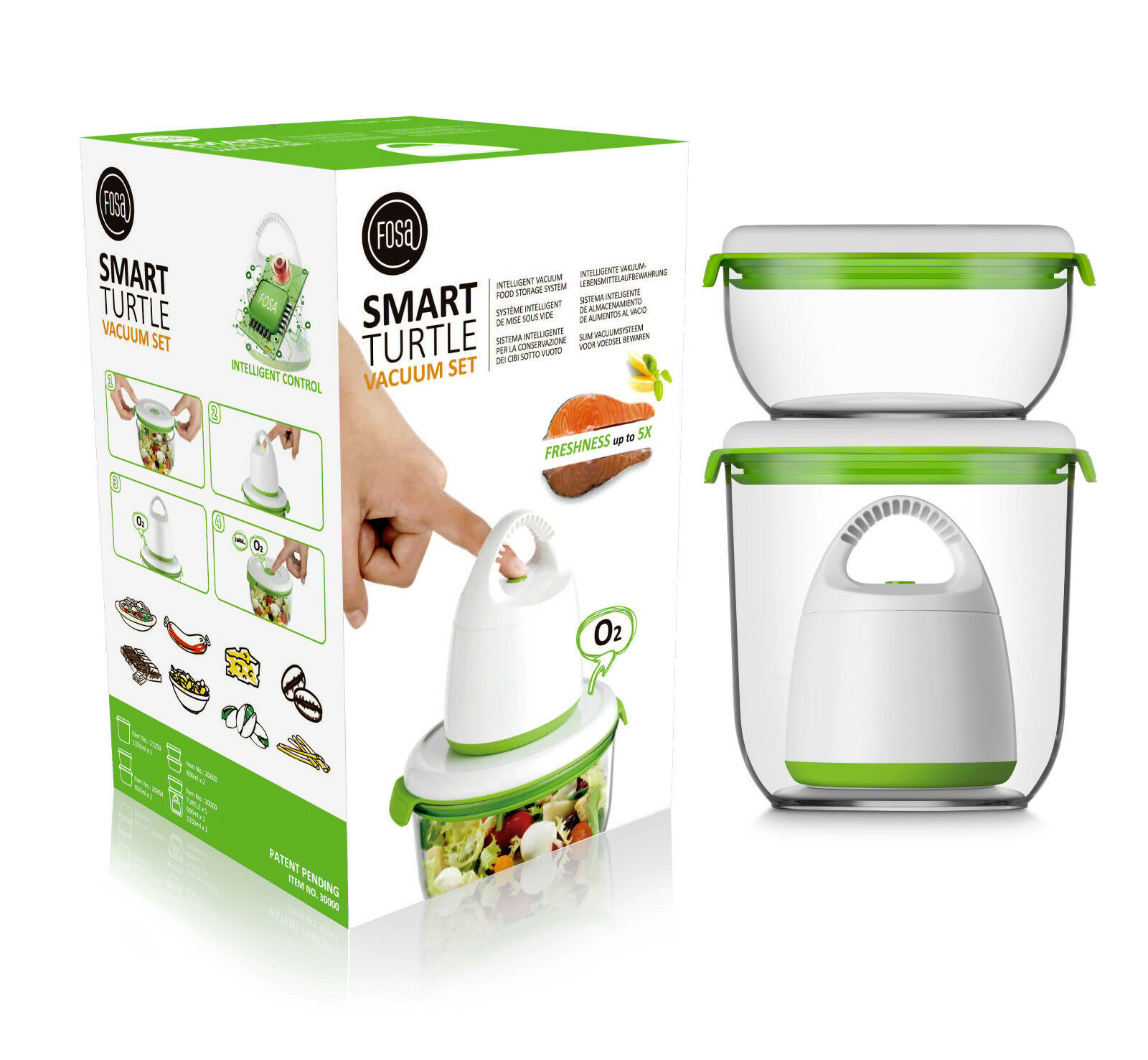 FOSA: Smart Food Vacuum System Starter Kit