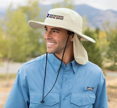 Rear Bucket - USPS Postal Post Office Bucket hat with Rear Flap No Fly Zone - Embroidered