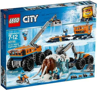 Lego City Arctic Mobile Exploration Base 60195  6 Minifigures Retired Set  Age