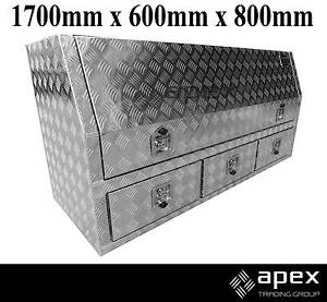 NEW APEX ALUMINIUM ENCLOSED DRAWER TOOL BOX TOOLBOX FOR UTE 16015 Chipping Norton Liverpool Area Preview