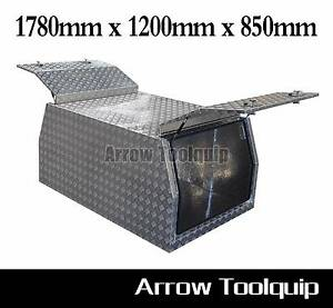 1780x1200x850mm Aluminium Tool Box Gullwing Canopy Toolbox 3.0mm Prestons Liverpool Area Preview