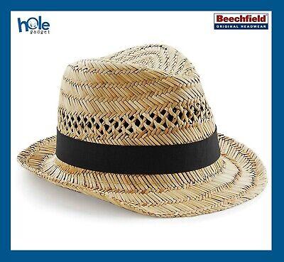 Cappello di in Paglia Panama Paglietta da Sole Estivo Uomo Donna da Mare