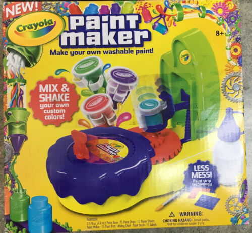 Crayola Paint Maker - Make your own washable paint!