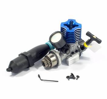 HSP RC CAR 1/10 NITRO VX18 2.74cc pull start + exhaust & clutch