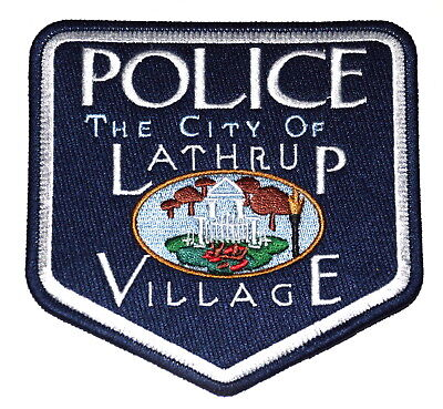 For sale LATHRUP VILLAGE MICHIGAN MI Police Sheriff Patch PICKETT FENCE ~