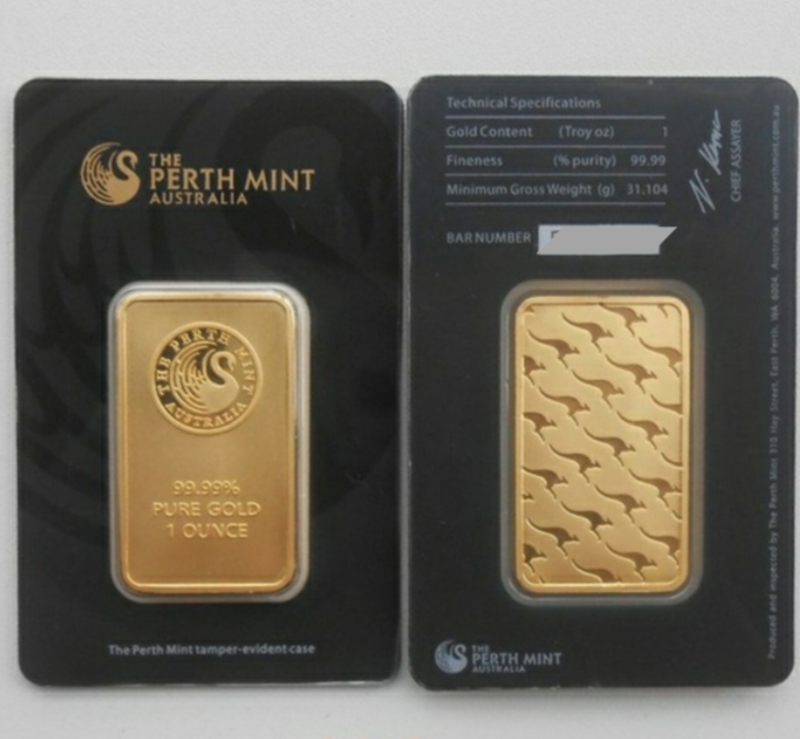 20 Lingotti The Perth Mint Australia da 1 oncia
