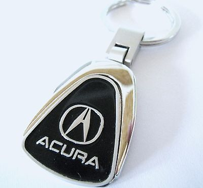 ACURA KEY CHAIN RING FOB TSX TLX ILX RDX MDX NSX SUV TL 2015 2016 BLACK NEW