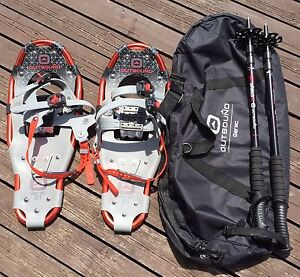 Snowshoes, Poles and Carry Bag for Small Person