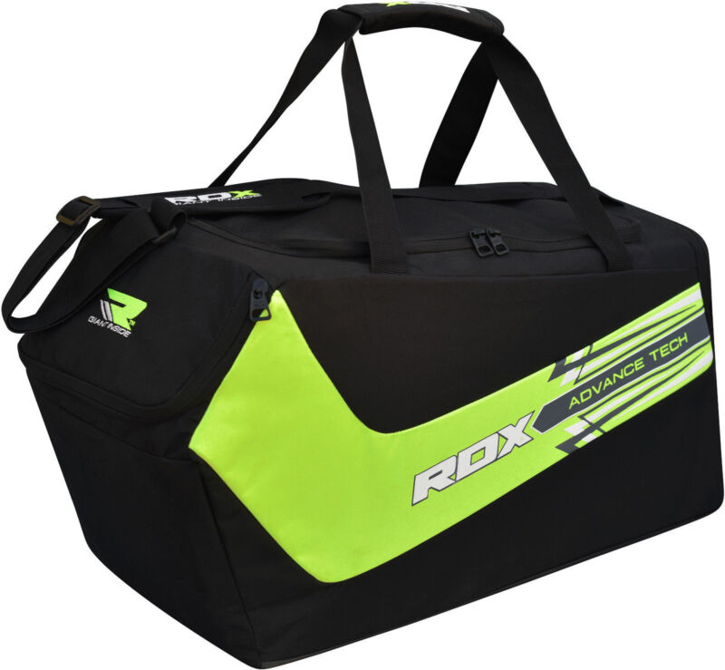 ce8a9d5628 RDX Gym Sports Kit Bag MMA Holdall Gear Backpack Duffle Fitness Outdoor CA  ...