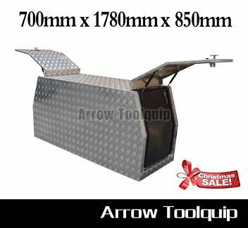 1780x700x850mm Aluminium Tool Box Dual Cab Ute Canopy Toolbox