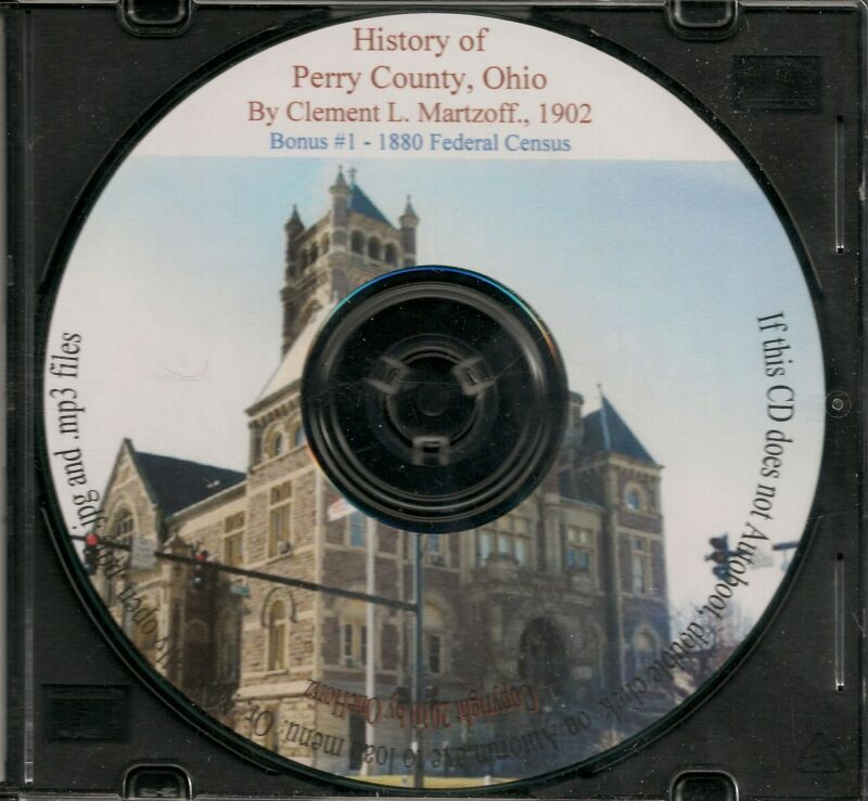 Perry County Ohio History + 1880 Census