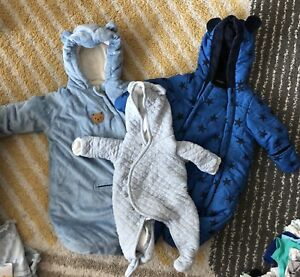 0-3 baby winter suits